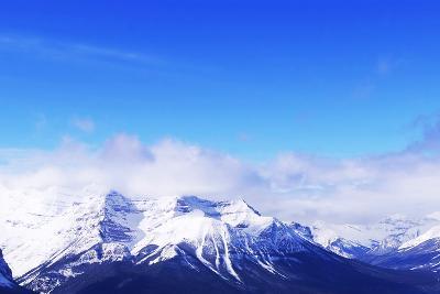 Snowy Mountains-elenathewise-Photographic Print