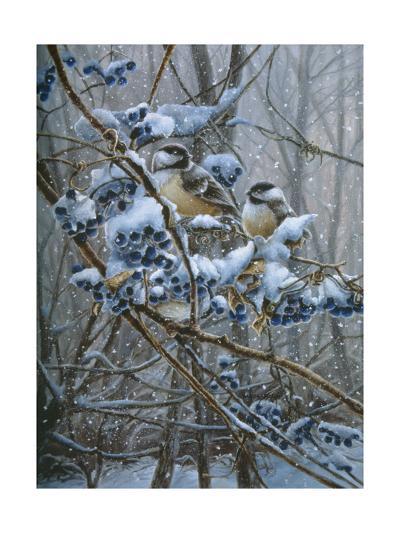 Snowy Treasure-Wanda Mumm-Giclee Print