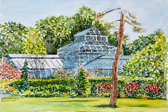 Snug Harbor Greenhouse-Anthony Butera-Giclee Print