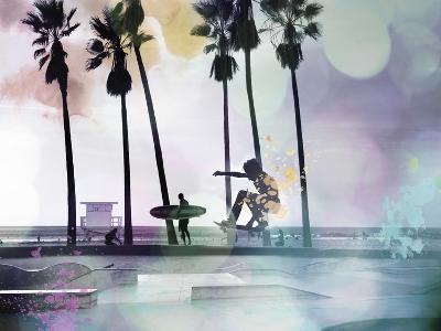 So Cal - Skatepark-Chuck Brody-Giclee Print