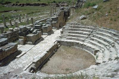 So-Called Odeion at Ephesus, 2nd Century-Publius Vedius Antoninus-Photographic Print
