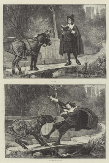 So Far, and Yet So Near-George Edward Robertson-Giclee Print