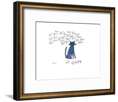 So Happy, Ca. 1958-Andy Warhol-Framed Art Print