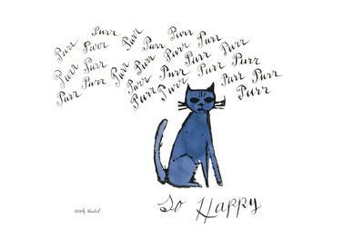 So Happy, Ca. 1958-Andy Warhol-Art Print