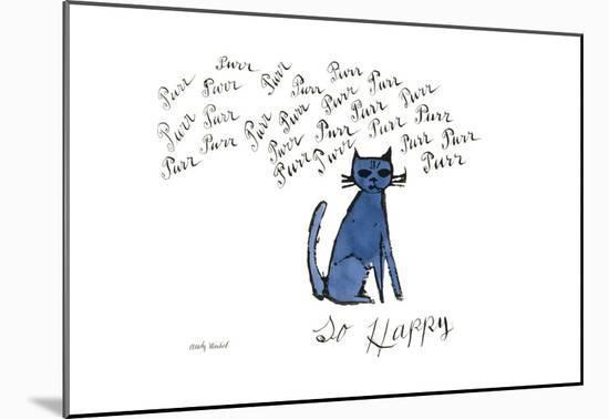 So Happy, Ca. 1958-Andy Warhol-Mounted Print