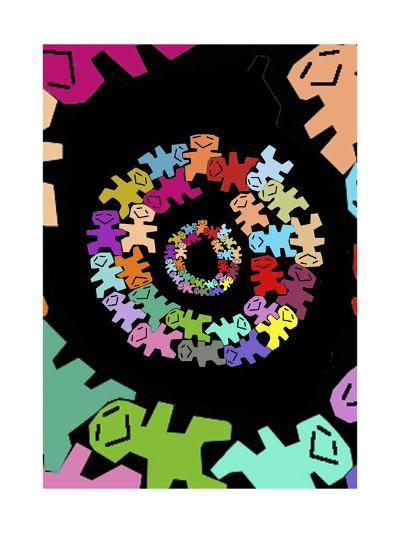 So Happy-Miguel Balb?s-Giclee Print