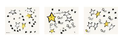 So Many Stars, c. 1958 (triptych)-Andy Warhol-Art Print