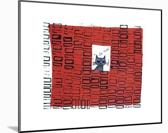 So Meow, c. 1958-Andy Warhol-Mounted Art Print