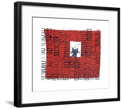 So Meow, c. 1958-Andy Warhol-Framed Giclee Print