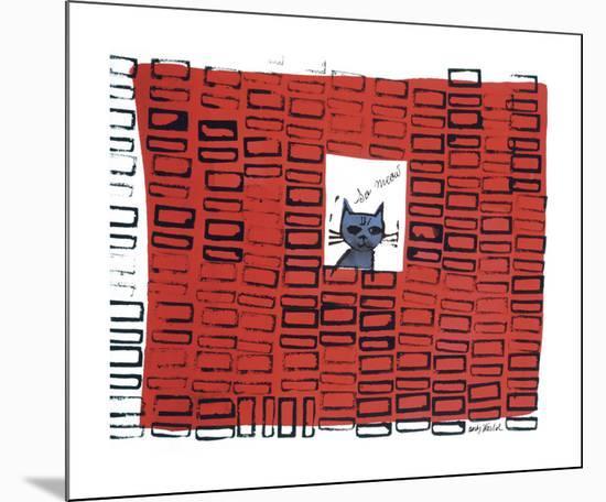 So Meow, c. 1958-Andy Warhol-Mounted Giclee Print