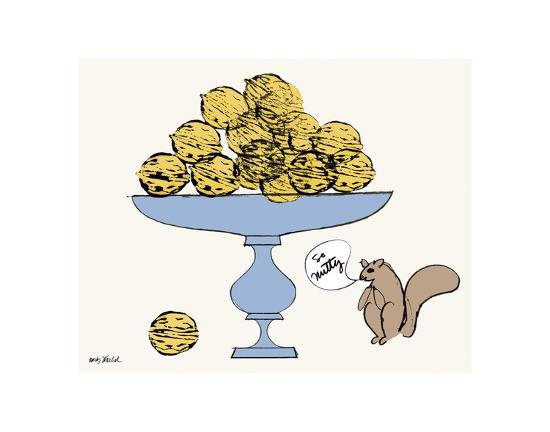 So Nutty-Andy Warhol-Art Print