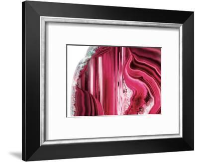 So Pure Collection - Beautiful Red Agate-Philippe Hugonnard-Framed Photographic Print
