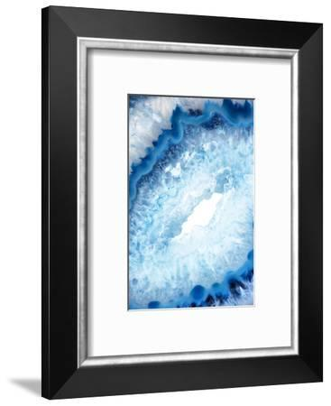 So Pure Collection - Blue Agate Heart-Philippe Hugonnard-Framed Photographic Print