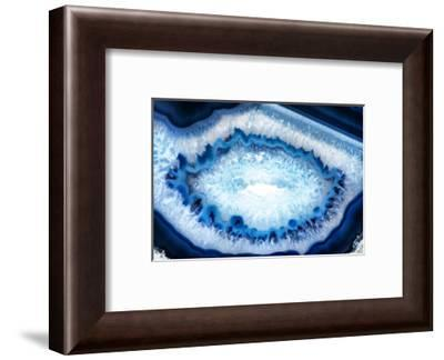 So Pure Collection - Blue Agate Look-Philippe Hugonnard-Framed Photographic Print
