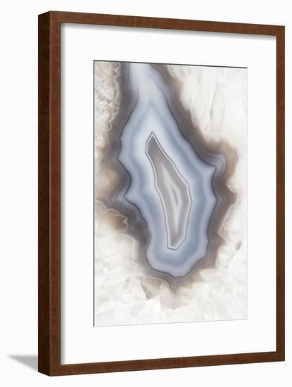 So Pure Collection - Drop of Agate II-Philippe Hugonnard-Framed Photographic Print