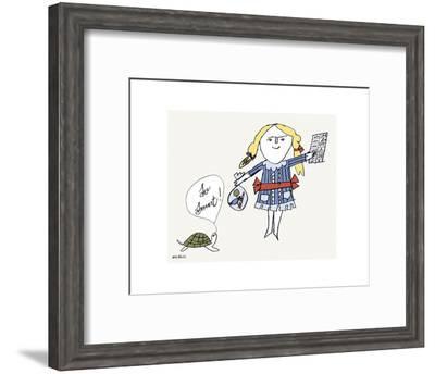 So Smart-Andy Warhol-Framed Art Print