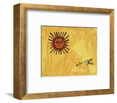 So Sunny, c. 1958-Andy Warhol-Framed Art Print