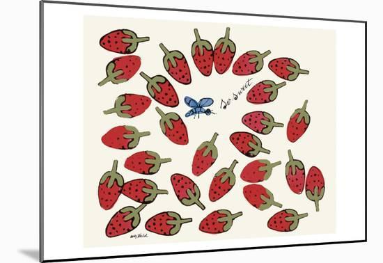 So Sweet, c. 1958-Andy Warhol-Mounted Art Print