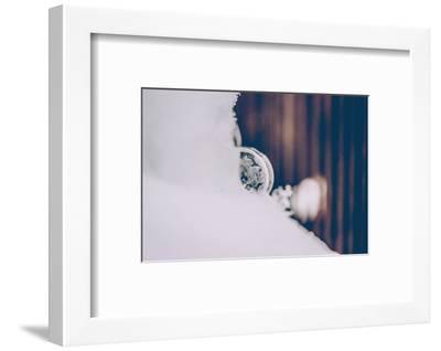 Soap bubble, frozen-Jule Leibnitz-Framed Photographic Print