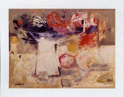 Sobre la Mesa I-Justo San Felices-Art Print