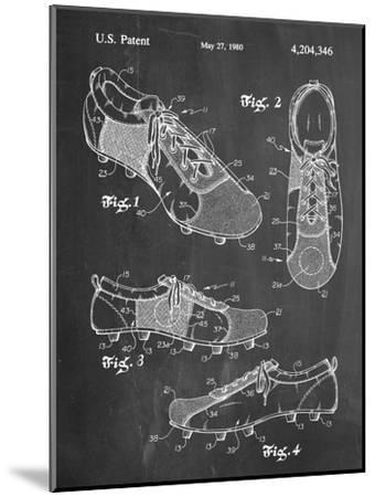 Soccer Shoes Patent--Mounted Art Print