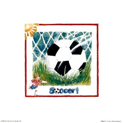 Soccer-Lila Rose Kennedy-Art Print