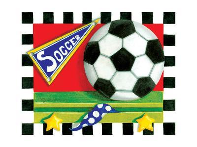 Soccer-Kathy Middlebrook-Art Print
