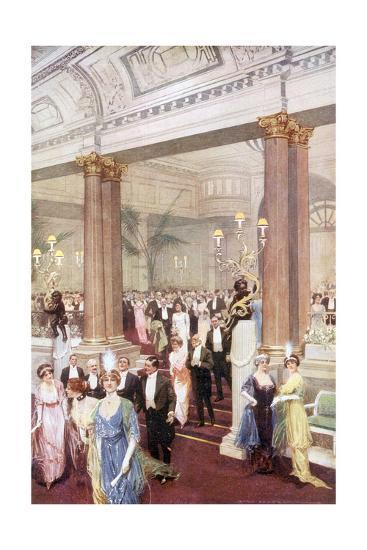 Social, Savoy Banquet 20C-Max Cowper-Giclee Print