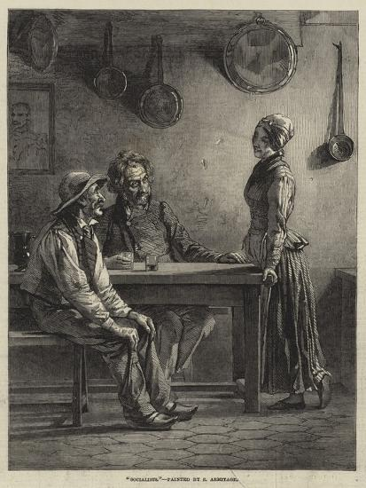Socialists-Edward A. Armitage-Giclee Print