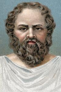 Socrates, Ancient Greek Philosopher, Early 20th Century