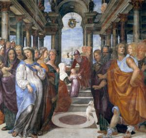 Presentation of the Virgin in the Temple by Sodoma