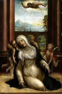 Stigmatization and Faint of Saint Catherine of Siena by Sodoma