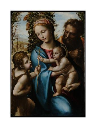 The Holy Family with John the Baptist as a Boy, 1525-1528
