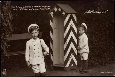Söhne Des Kronprinzenpaares, Zollhütte, Npg 4778--Giclee Print