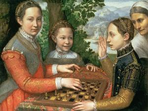 Game of Chess, 1555 by Sofonisba Anguisciola