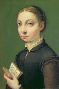 Self Portrait, 1554 by Sofonisba Anguisciola