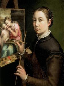 Self Portrait, 1556 by Sofonisba Anguisciola