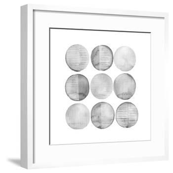 Soft Circles I-Grace Popp-Framed Art Print