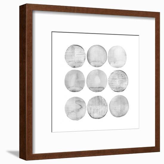 Soft Circles II-Grace Popp-Framed Art Print