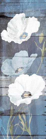 Soft Florals Wood Mate-Jace Grey-Art Print
