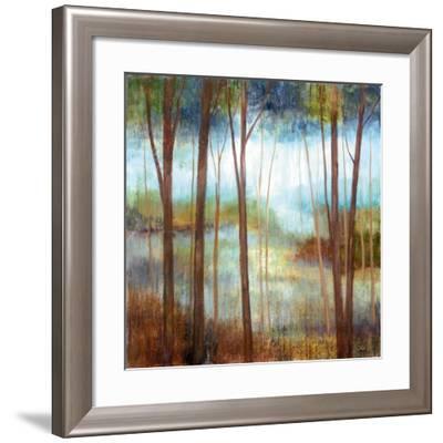 Soft Forest II--Framed Art Print