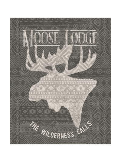Soft Lodge V Dark-Janelle Penner-Art Print