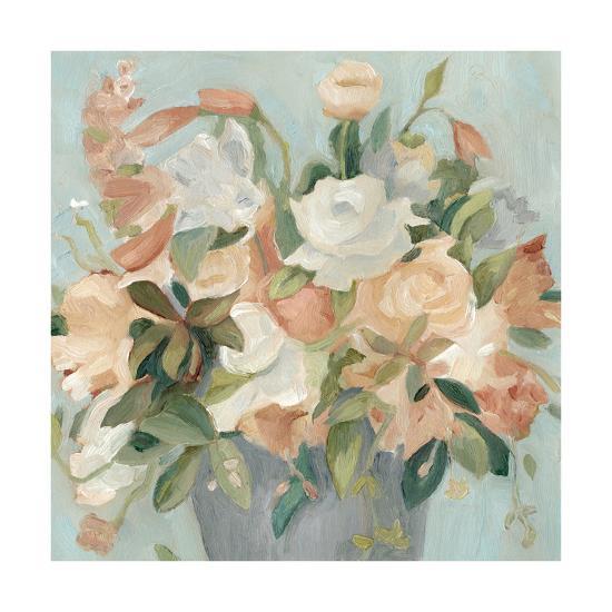 Soft Pastel Bouquet II--Art Print