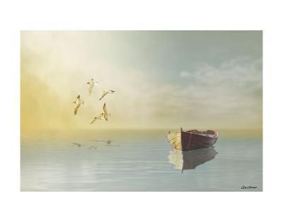 Soft Sunrise on the Beach 11-Carlos Casamayor-Art Print