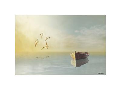 Soft Sunrise on the Beach, no. 11-Carlos Casamayor-Giclee Print