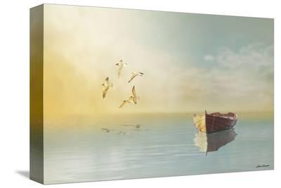 Soft Sunrise on the Beach, no. 11-Carlos Casamayor-Stretched Canvas Print