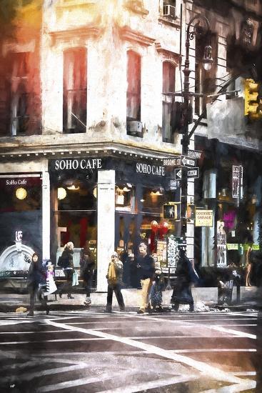Soho Cafe-Philippe Hugonnard-Giclee Print