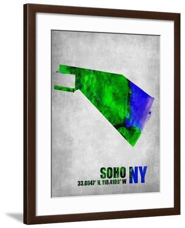 Soho New York-NaxArt-Framed Art Print