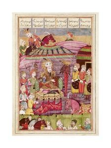 Sohrab Facing the Tent of the Persian Army Leaders