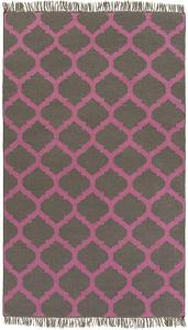 Soiree Area Rug  - Carnation/Charcoal 5' x 8'